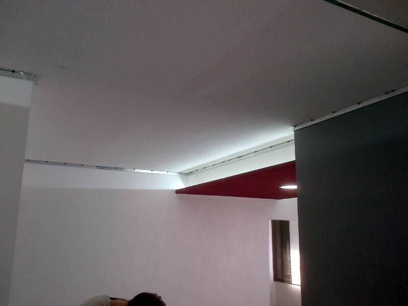strop v zubní ordinací 2
