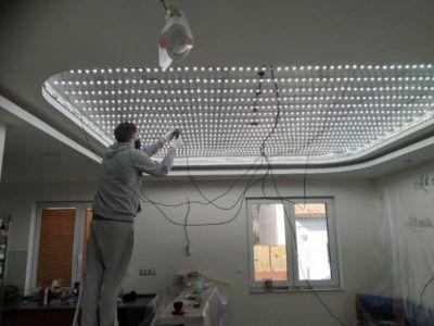 Lesklé translucidní napínané stropy 5