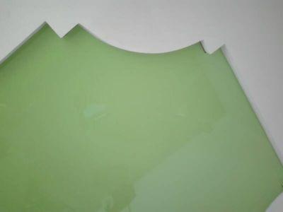Zelený pnutý strop Plzeň 6