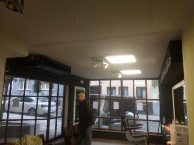 napínané stropy v barber shopu 3
