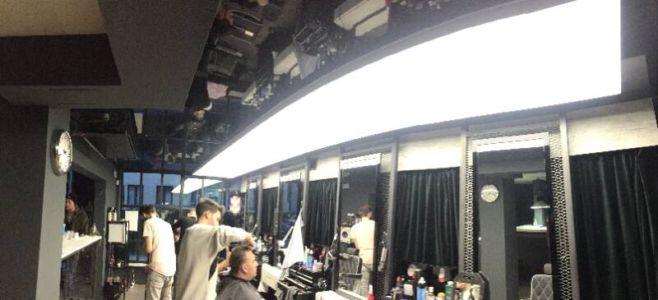 napínané stropy v barber shopu 4