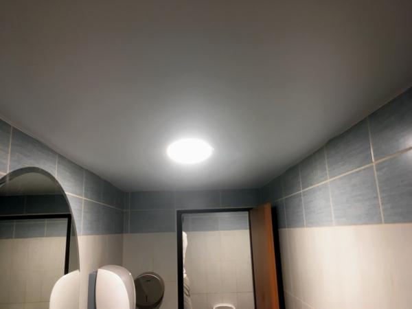 Napínané stropy v restaurace