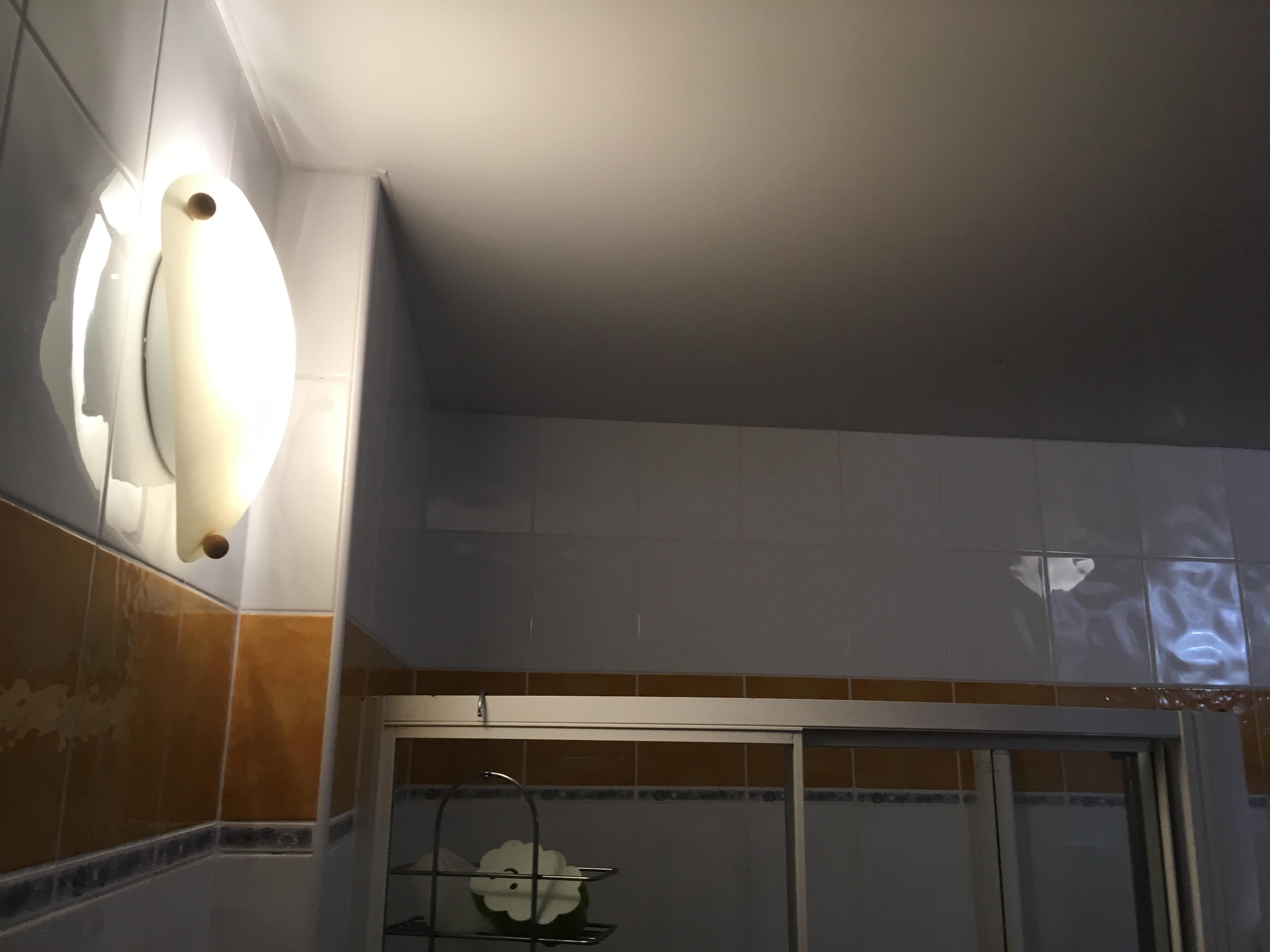 Po dokončené opravě stropů