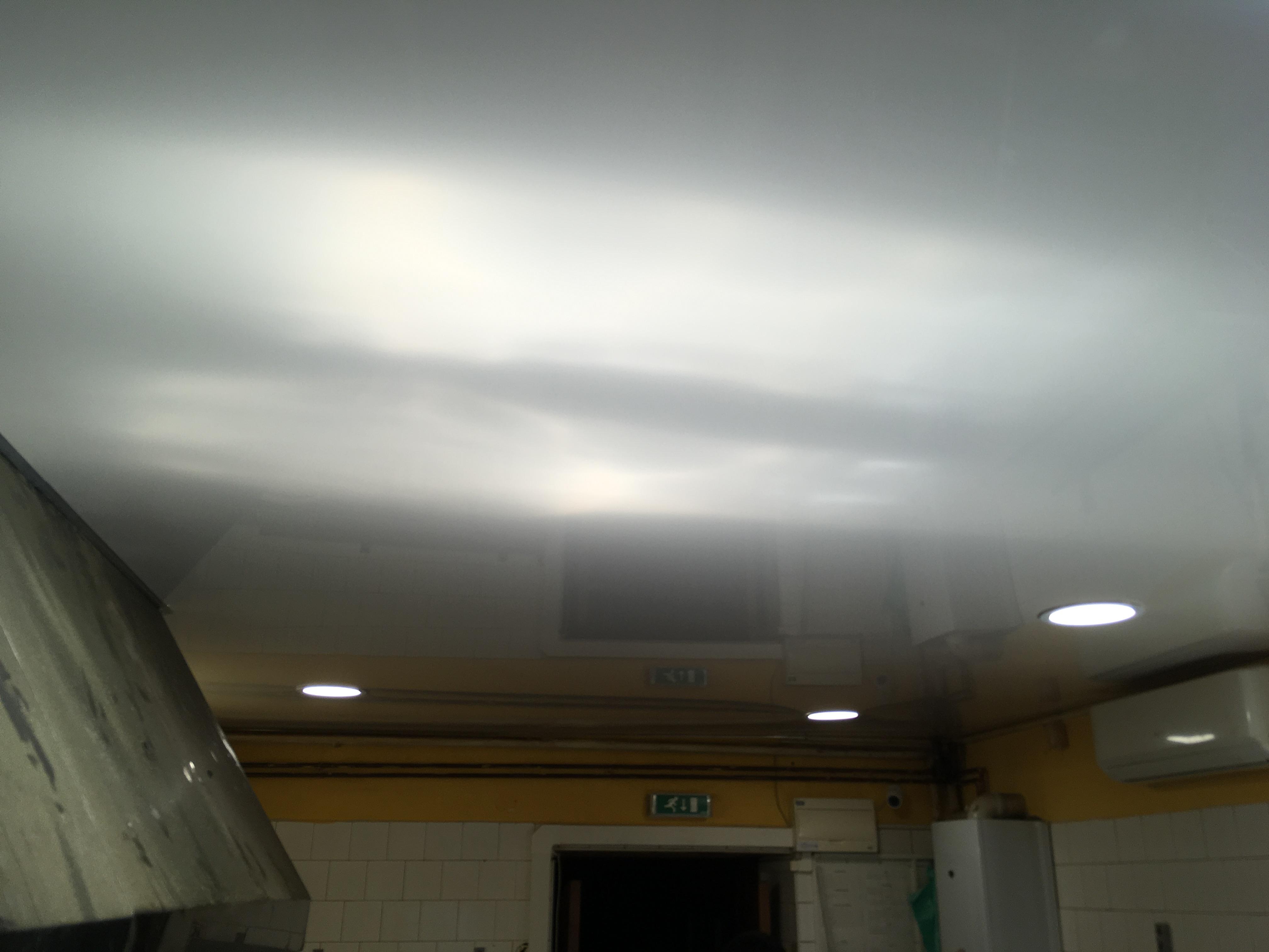 Napinané stropy v kuchyně