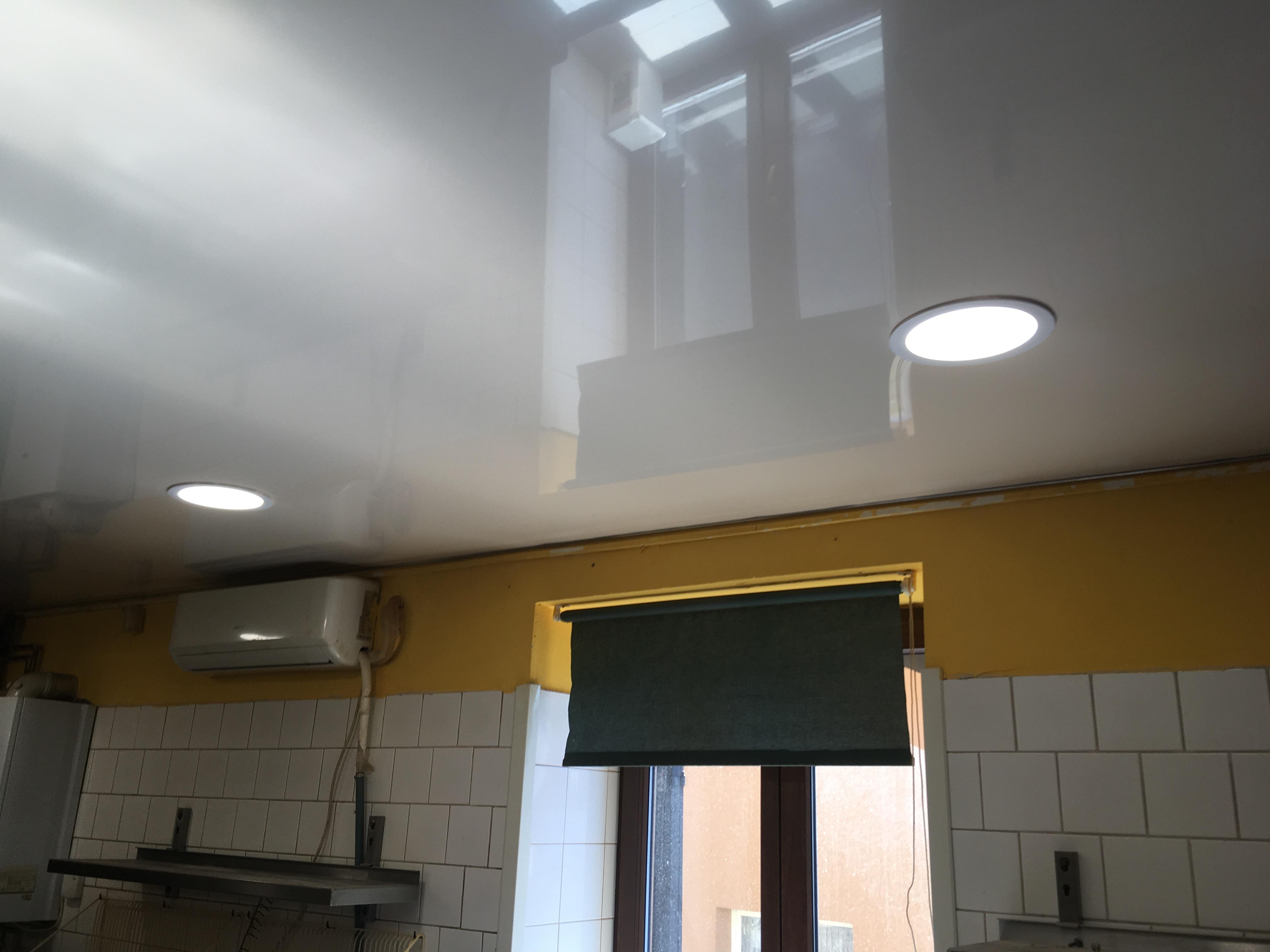 Pnuté stropy v kuchyně