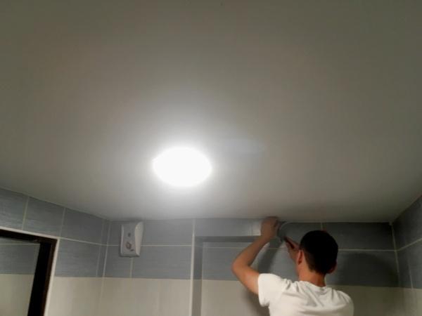 Napínaný stropní podhled